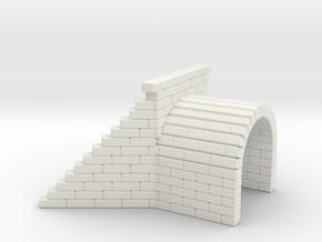 Culvert 3 - Zscale in White Natural Versatile Plastic