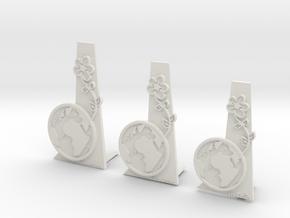 Earth Team Awards in White Natural Versatile Plastic