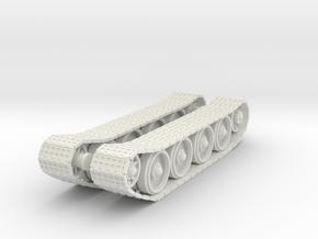 Tracks For TR-34 in White Natural Versatile Plastic