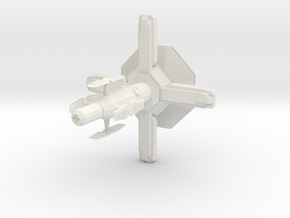 Space Station in White Natural Versatile Plastic