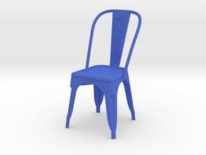 1:12 Pauchard Chair in Blue Processed Versatile Plastic