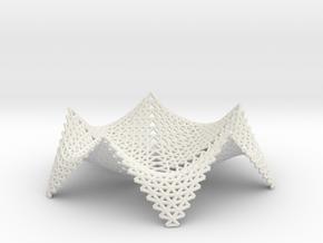 starfish fruit bowl in White Natural Versatile Plastic