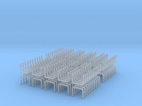 Z Scale Log Bunk V2.0 200 Pack in Smooth Fine Detail Plastic