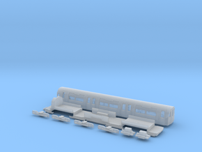 NT95DMu 1:148 95 tube stock driving motor (unpower in Smooth Fine Detail Plastic