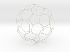 Fussball in White Natural Versatile Plastic