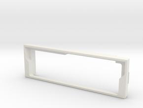 kenwood Kvd526 front in White Natural Versatile Plastic