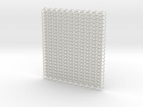 Euro 4 in 1 - 484 rings in White Natural Versatile Plastic