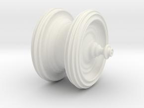 Juliaquat z^6 in White Natural Versatile Plastic