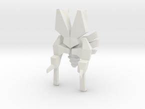 Spaceship type D in White Natural Versatile Plastic