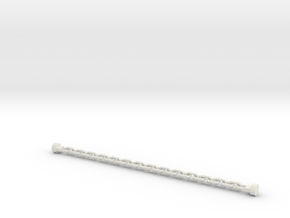 Section of Chain in White Natural Versatile Plastic