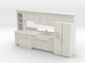 1:48 Farmhouse Kitchen J in White Natural Versatile Plastic
