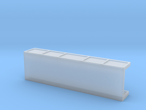 Girder Bridge Deck (without supports) in Smooth Fine Detail Plastic