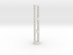 NMR Tube Holder in White Natural Versatile Plastic