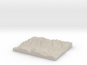 Model of Schlans in Natural Sandstone
