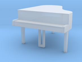piano in Smooth Fine Detail Plastic