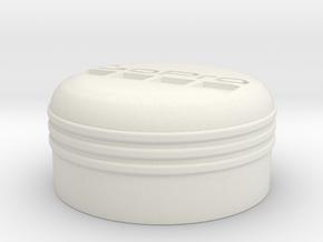 GoPro Hero 3 Linse Abdeckung / Schutz in White Natural Versatile Plastic