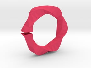 Bracelet in Pink Processed Versatile Plastic