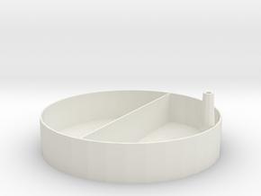 Container in White Natural Versatile Plastic