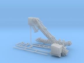 Eimerkettenbagger  für Feldbahn in 1:50 in Smooth Fine Detail Plastic