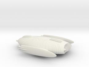 Starship 001 C in White Natural Versatile Plastic