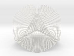 tetra callimitra 16 in White Natural Versatile Plastic