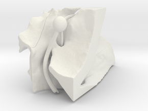 ppfhalvedretrysmall in White Natural Versatile Plastic