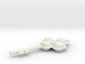 Shugo Chara! in White Natural Versatile Plastic