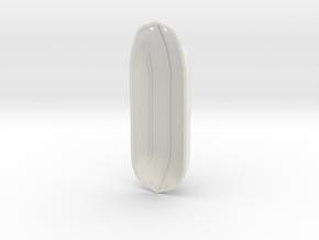 ZachWing LowPod1 in White Natural Versatile Plastic