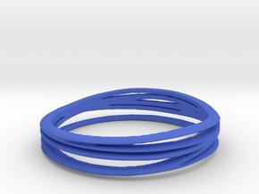7-error-ring in Blue Processed Versatile Plastic