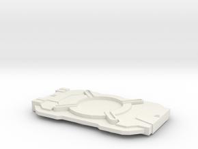 Cortana Chip 2 in White Natural Versatile Plastic