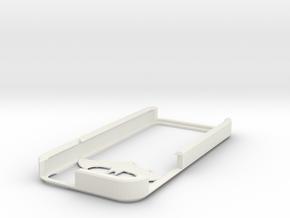 Batman iPhone 5 case in White Natural Versatile Plastic