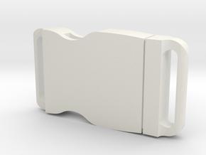 Mace Windu Belt Buckle Body 1.0 in White Natural Versatile Plastic