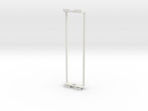 55 boxcab underframe in White Natural Versatile Plastic