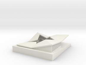 miniNL Loophouse(1:100) in White Natural Versatile Plastic