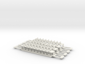 DD AR bodemplaten in White Natural Versatile Plastic