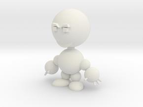 Todd (happy) in White Natural Versatile Plastic