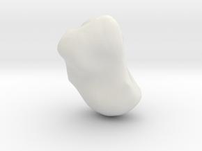Capitate in White Natural Versatile Plastic