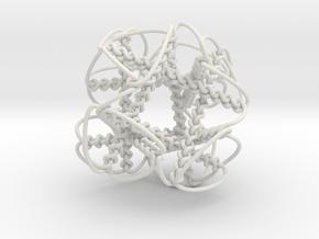 Braid4in in White Natural Versatile Plastic