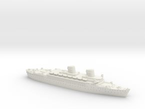 USS West Point in White Natural Versatile Plastic