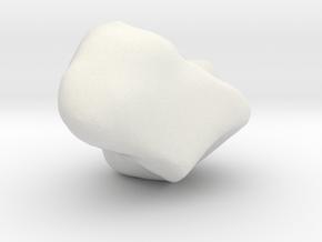 Trapezium in White Natural Versatile Plastic