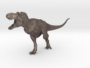 Tyrannosaurus rex 1/72 Krentz in Polished Bronzed Silver Steel