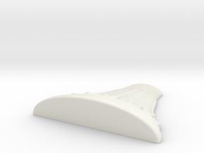 wheelHKbase in White Natural Versatile Plastic