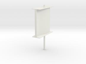 schilling rudder v3 1 in White Natural Versatile Plastic