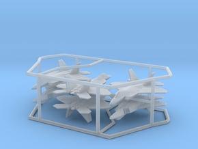 1/500 F-22 Raptor (x6; FD/FUD) in Smooth Fine Detail Plastic