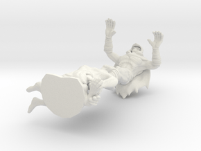 That guy who lives in your dreams or something in White Natural Versatile Plastic