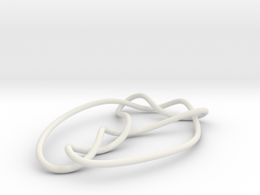knot 7-3 100mm in White Natural Versatile Plastic