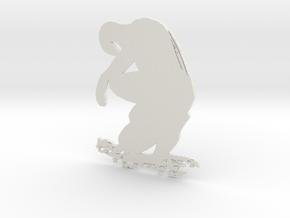Spider artwork in White Natural Versatile Plastic