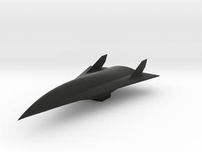 Aurora Spy Plane in Black Natural Versatile Plastic