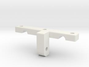 sattelhalter oben in White Natural Versatile Plastic