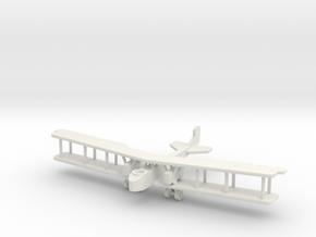 Aircraft- Gotha G.V Bomber (1/288th) in White Natural Versatile Plastic